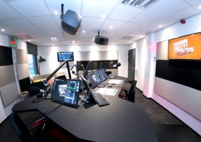Groot Nieuws Radio krijgt nieuwe radiostudio