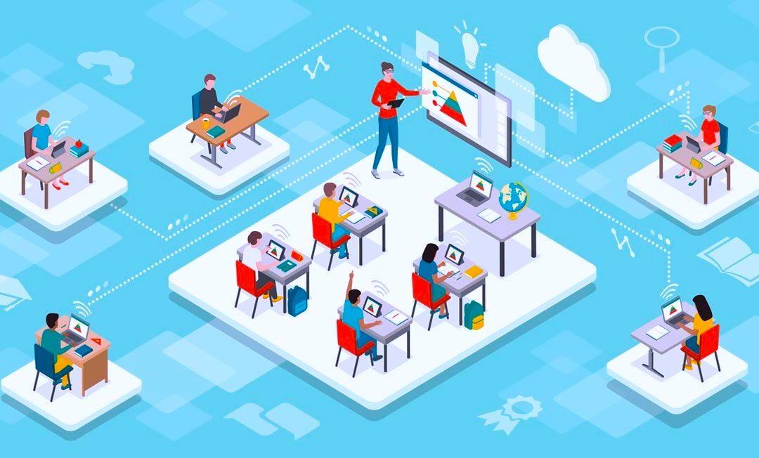 Hybride klaslokaal is de oplossing voor docenten en studenten!